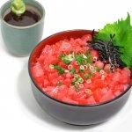 マグロづくし丼 (醤油だれ付き)