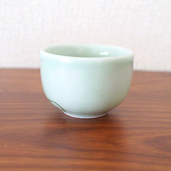 ベトナム バッチャン焼き 湯飲み(中)(蓮 (ロータス )【画像6】