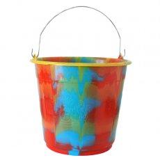 アフリカ プラスチック セネガル プラスチックバケツ(ブルー 10リットル)