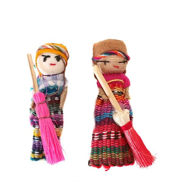 世界のお守り グアテマラ 人形 お守り(愛情・金運・健康)【画像2】
