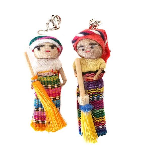 世界のお守り グアテマラ 人形 お守り(愛情・金運・健康)【画像3】