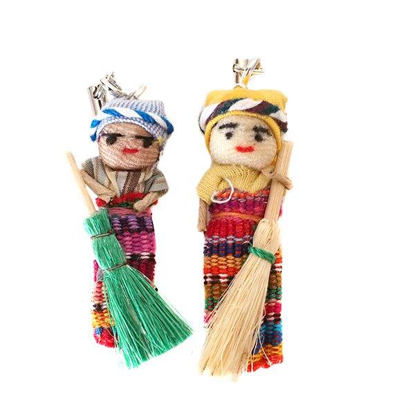 世界のお守り グアテマラ 人形 お守り(愛情・金運・健康)【画像4】