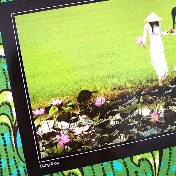 ベトナム ポストカード【Dong Thap girls】ドンタップ省の女の子【画像2】