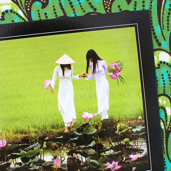 ベトナム ポストカード【Dong Thap girls】ドンタップ省の女の子【画像3】