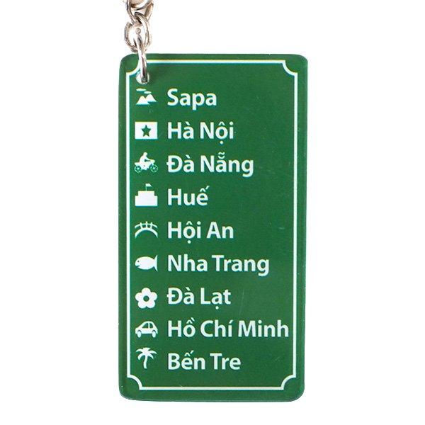 ベトナム 地図 キーホルダー【画像2】