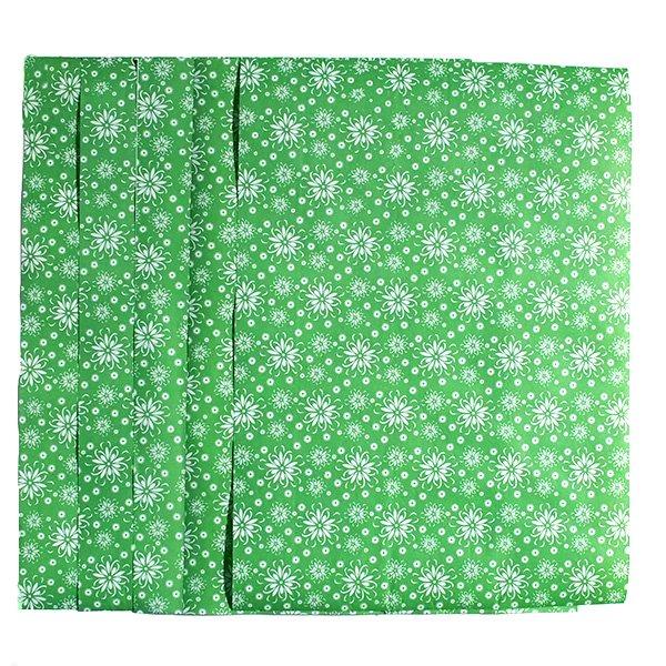 ベトナム ラッピングペーパー(包装紙)花柄 A4サイズ 5枚セット(A)【画像6】
