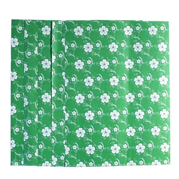 ベトナム ラッピング 包装紙 5枚セット(お花柄B)【画像7】