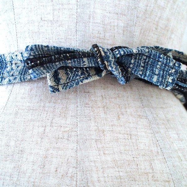 ベトナム 少数民族 モン族 刺繍 エプロン(1点もの)【画像6】