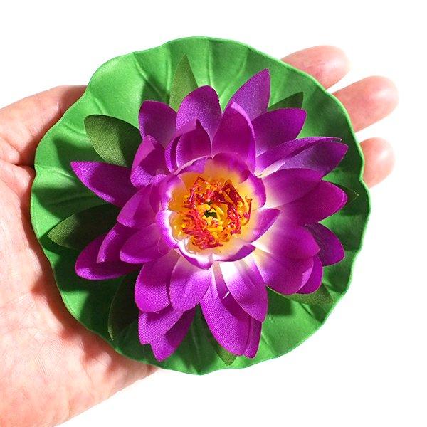 睡蓮の造花(Mサイズ)