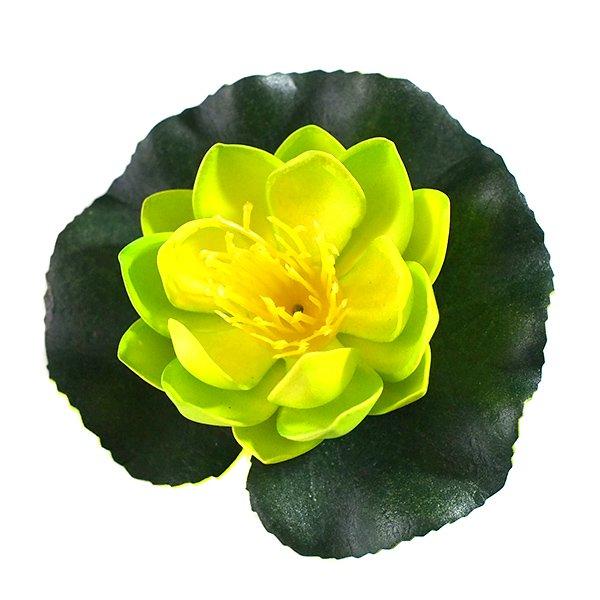 ベトナム 睡蓮(スイレン)造花 9cm【画像3】