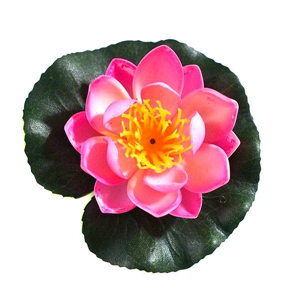 ベトナム 睡蓮(スイレン)造花 9cm【画像5】