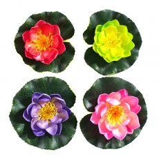 ベトナム 睡蓮の造花(カラフル)