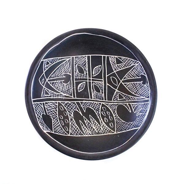 ケニア  ソープストーン 小皿(直径 約8cm)【画像3】