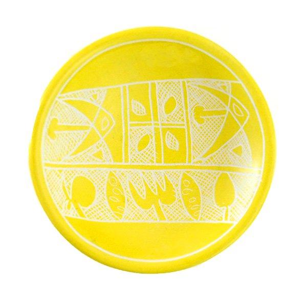 ケニア  ソープストーン 小皿(直径 約8cm)【画像4】