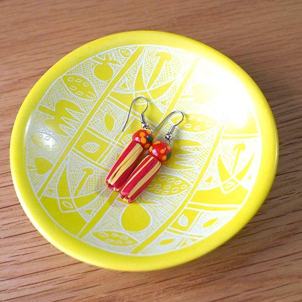 ケニア  ソープストーン 小皿(直径 約8cm)【画像7】