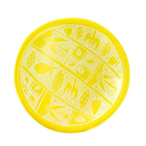 ケニア  ソープストーン 小皿(直径 約10cm)【画像4】