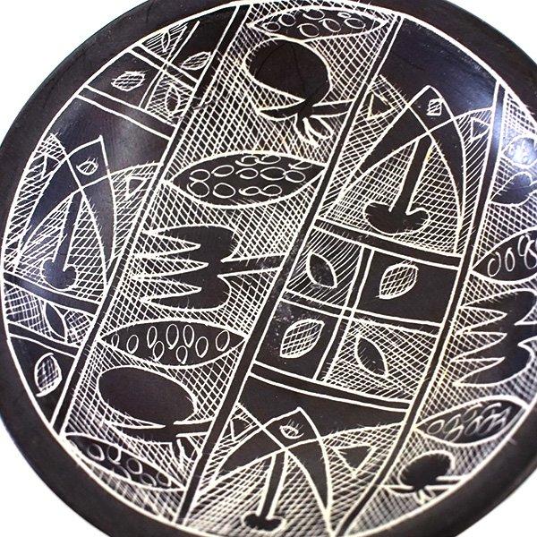 ケニア  ソープストーン 小皿(直径 約10cm)【画像5】