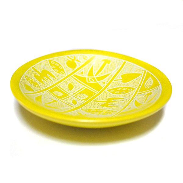 ケニア  ソープストーン 小皿(直径 約10cm)【画像6】