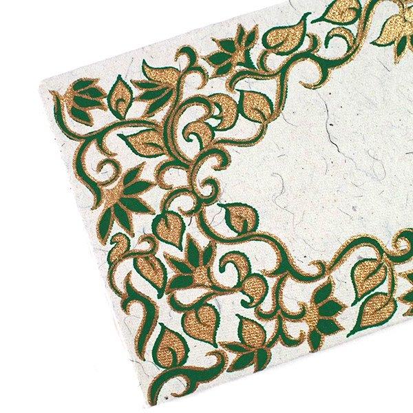 インド お花模様の封筒(5色)【画像5】