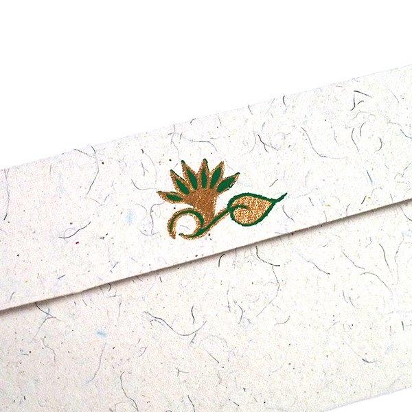 インド お花模様の封筒(5色)【画像6】