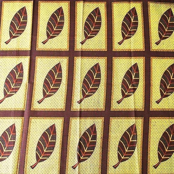 アフリカの布 キテンゲ(アフリカの秋)【画像4】