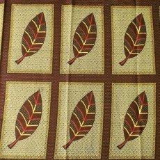 アフリカの布 キテンゲ(アフリカの秋)