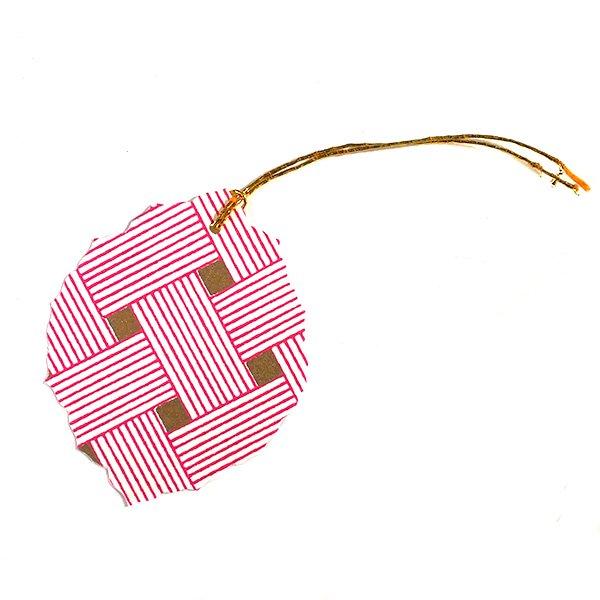インド chimanlals(チマンラール)葉っぱ ギフトタグ A【画像7】
