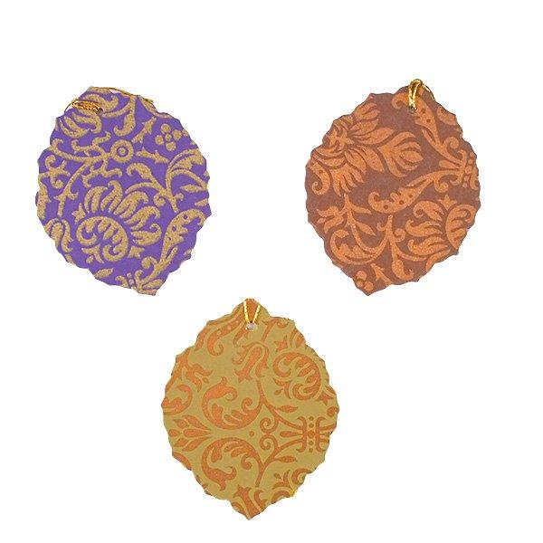 インド chimanlals (チマンラール)葉っぱ ギフトタグB 【画像2】