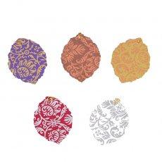 封筒 / メッセージカード インド chimanlals (チマンラール)葉っぱ ギフトタグB