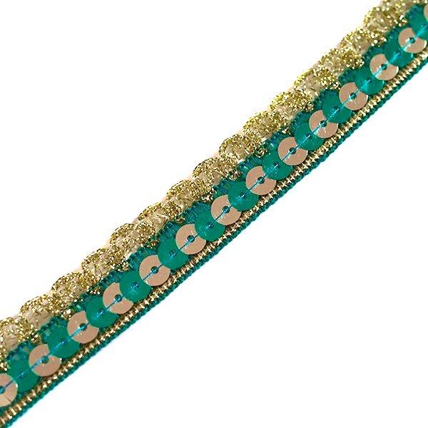 インド チロリアンテープ(スパンコール 幅2cm/1m単位売り)【画像2】