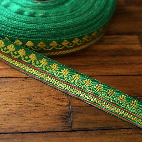 インド チロリアンテープ 全8色(模様 幅1cm)