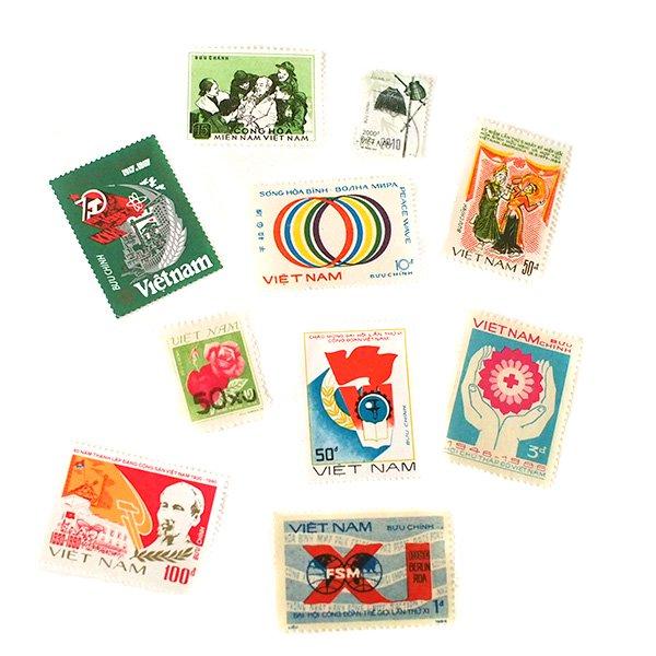 ベトナム 切手(3枚セット)【画像4】