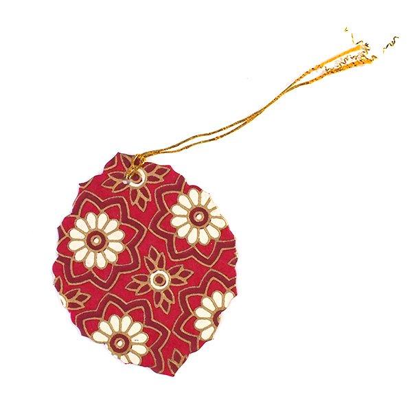 インド chimanlals(チマンラール)葉っぱ ギフトタグ C【画像3】