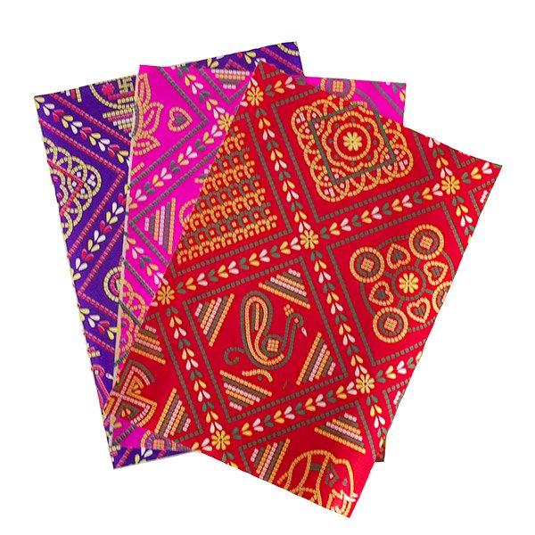 インド ラッピング 包装紙(アソート9枚)【画像2】