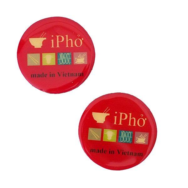ベトナム PHO マグネット(丸型)