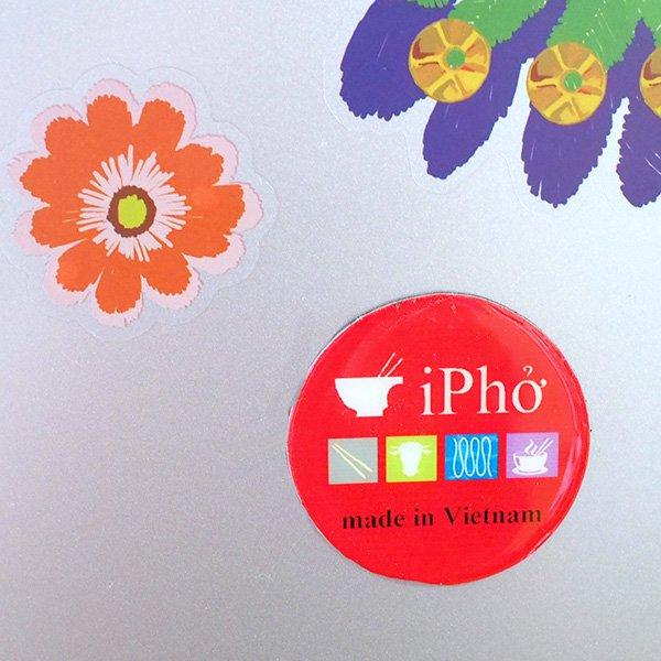 ベトナム キッチュなマグネット(i Pho)