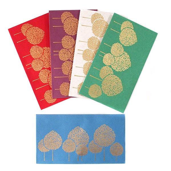 インド chimanlals(チマンラール)の封筒 木(A)