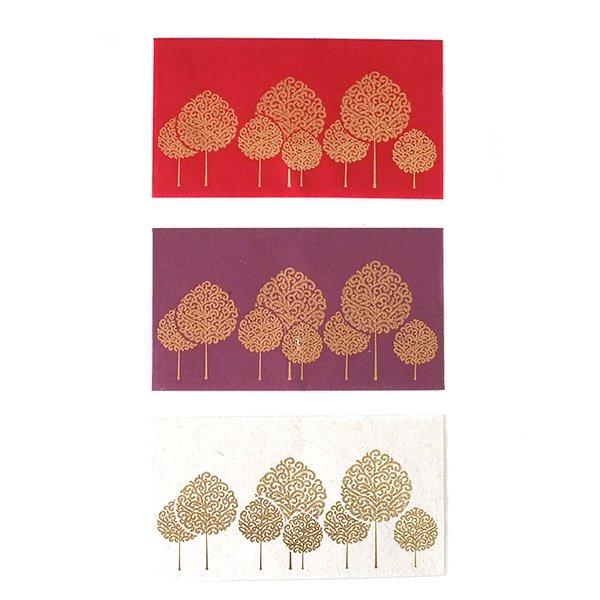 インド chimanlals(チマンラール)封筒 HEMKA  木(A)【画像3】
