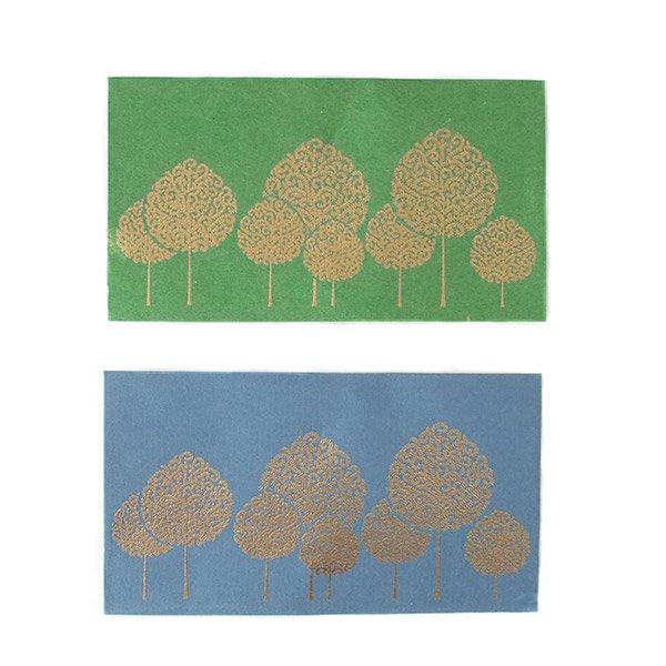 インド chimanlals(チマンラール)の封筒 木(A)【画像4】