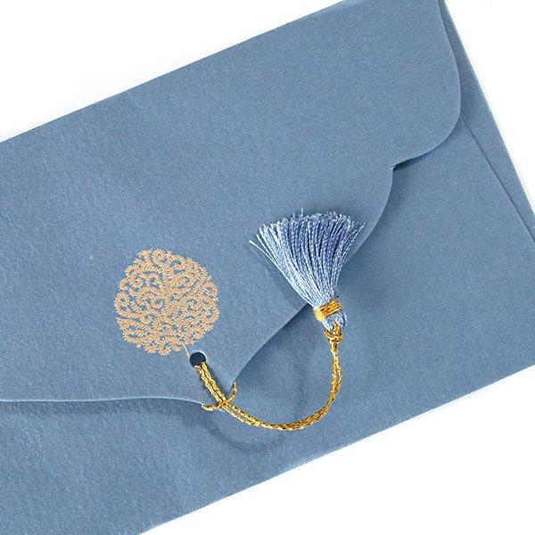 インド chimanlalsの封筒(木)