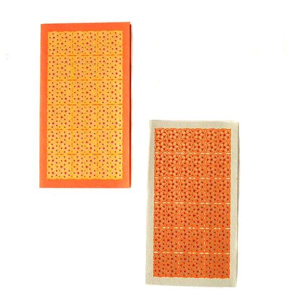 インド  chimanlals(チマンラール)小花 メッセージカード(封筒付き)【画像3】