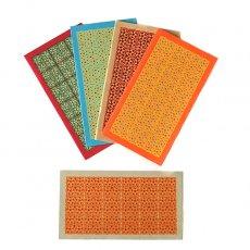 メッセージカード インド  chimanlals メッセージカード(小花 封筒付き)
