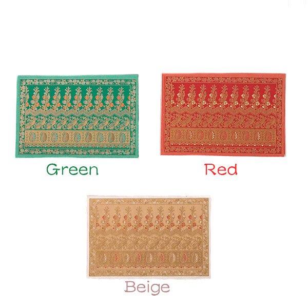 インド  chimanlals(チマンラール)メッセージカード NOOR A トリと植物(封筒付き)【画像2】