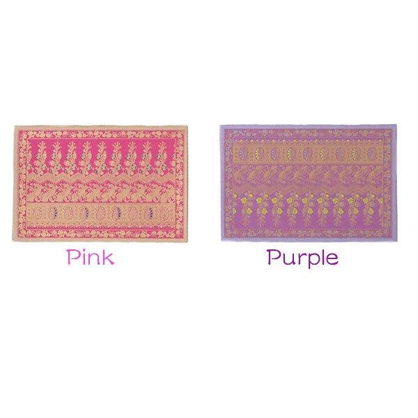 インド  chimanlals(チマンラール)メッセージカード NOOR A トリと植物(封筒付き)【画像3】