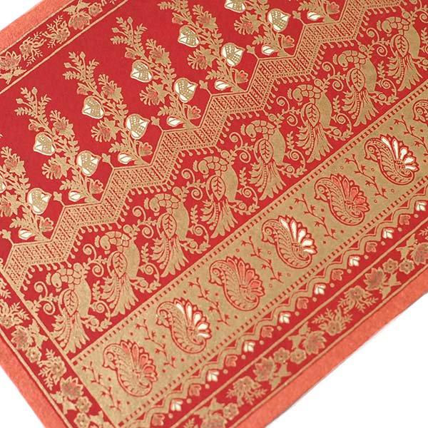 インド  chimanlals(チマンラール)メッセージカード NOOR A トリと植物(封筒付き)【画像4】