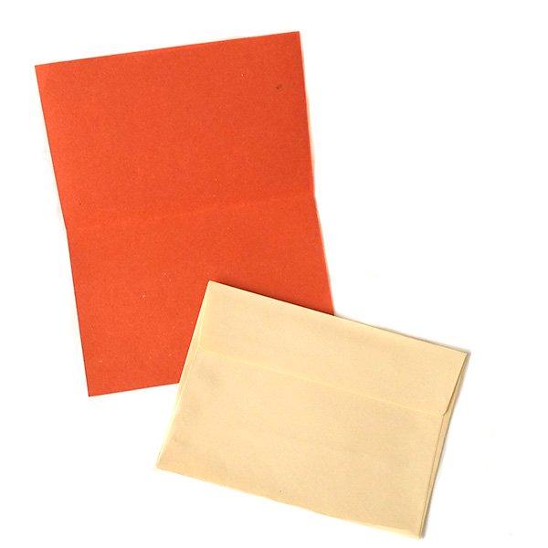 インド  chimanlals(チマンラール)メッセージカード NOOR A トリと植物(封筒付き)【画像5】