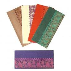 インド chimanlals(チマンラール)の封筒 植物とペイズリー