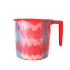 セネガル プラスチックコップ(1リットル レッド)