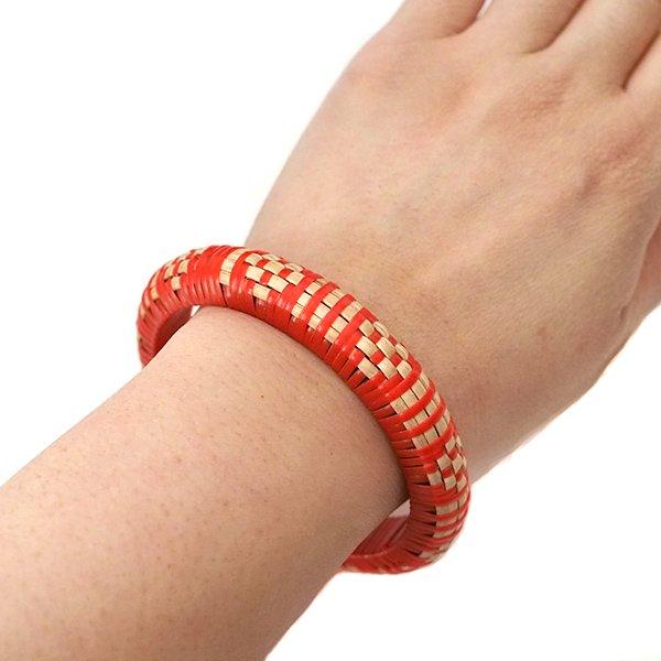 インド バンブーブレスレット(4色)