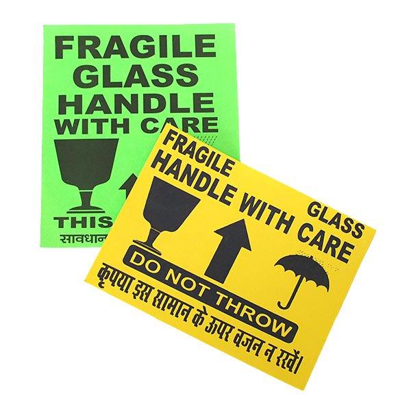 インド  フラジール ステッカー(FRAGILE 3枚セット L)